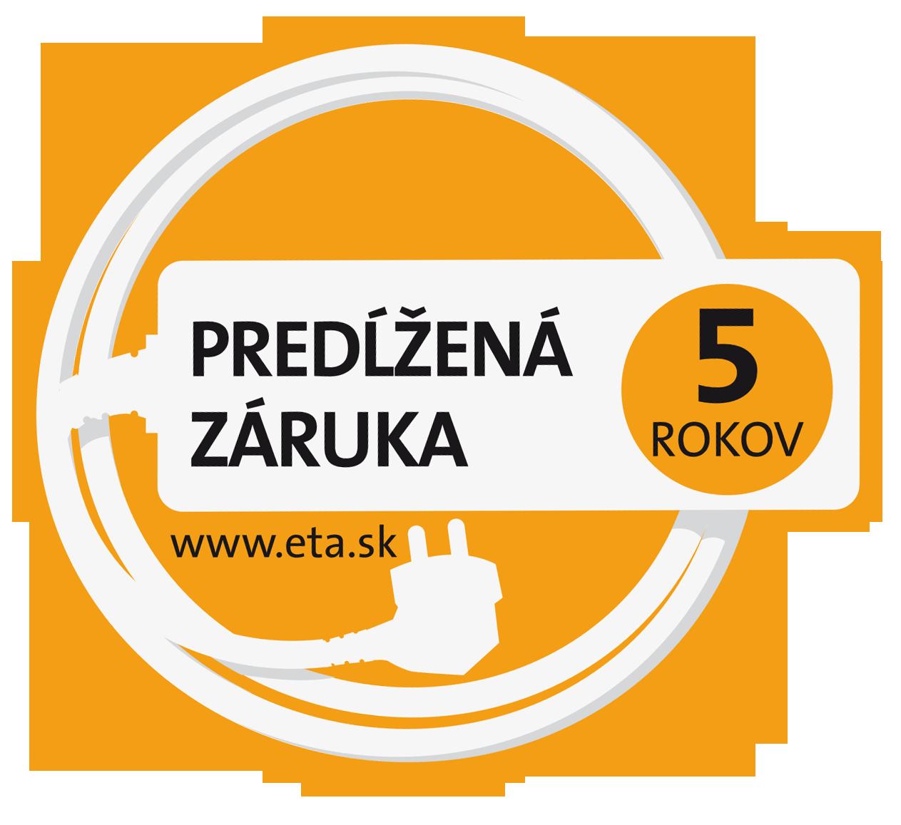 ETA 5 rokov záruka